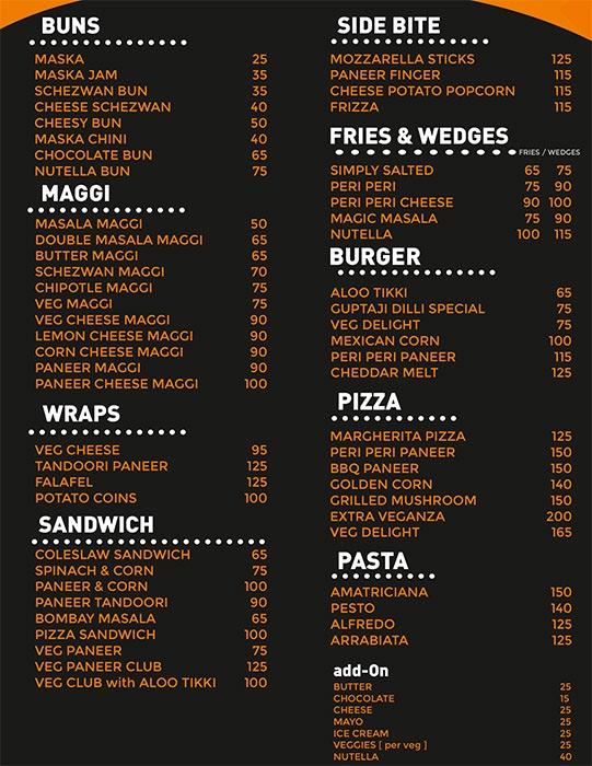 Chai-N-Smokers menu 3