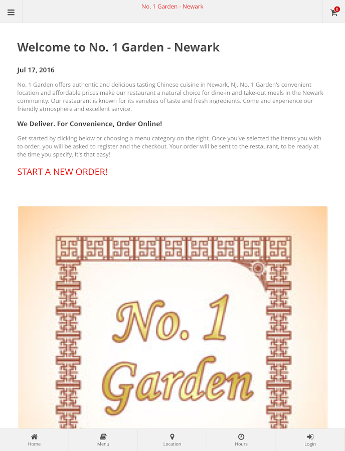 No. 1 Garden - Newark- screenshot