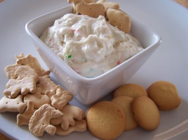 Cake Batter Dip Recipe