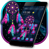 Dreamcatcher Launcher Magical Theme