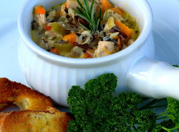 Cream Of Chicken And Wild Rice Soup Recipe