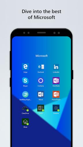 Microsoft Launcher 4.6.1.40425 screenshots 2