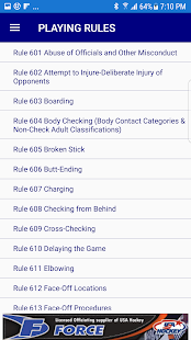 USA Hockey Mobile RuleBook- screenshot thumbnail