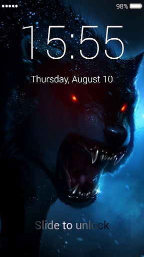 Wolf Lock Screen 1.0 screenshots 6