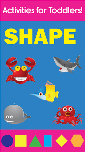 Shapes and Puzzle Toddler Game