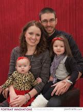 Photo: Terry '08 and Hillary Gerkin '08 Vaughn with daughters Dakota and Damara.