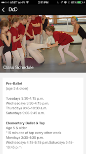 Dance Conservatory of Denver- screenshot thumbnail