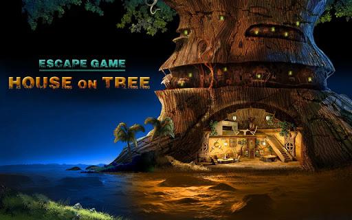ツリー上のゲームハウスエスケープ