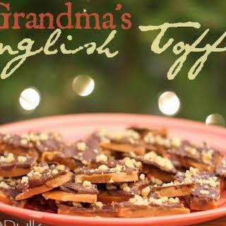 English Toffee.