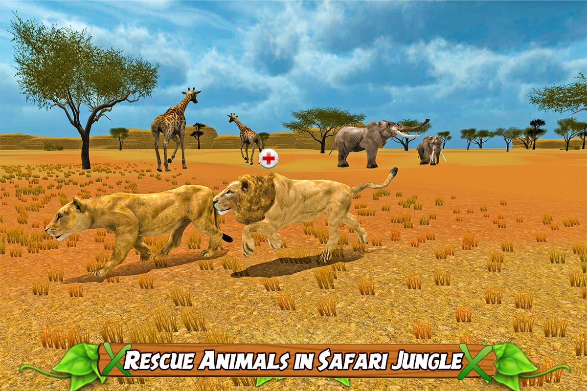 Animal Rescue Helicopter Sim- screenshot