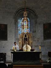 Photo: Ostatky sv. Savina jsou uloženy v presbytáři kostela, který je mu zasvěcen.