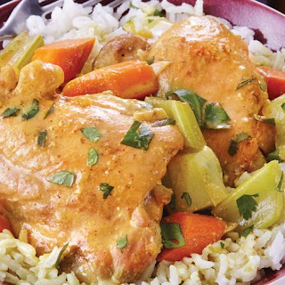Slow-Cooker Coconut Curry Chicken.