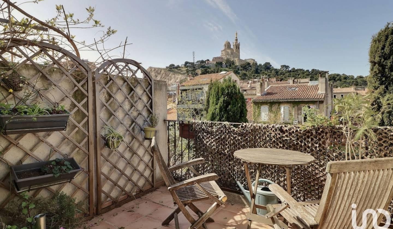 Maison avec terrasse Marseille 6ème