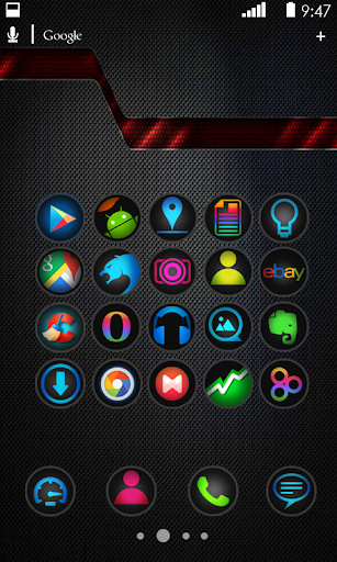 Blue Light Icon Pack