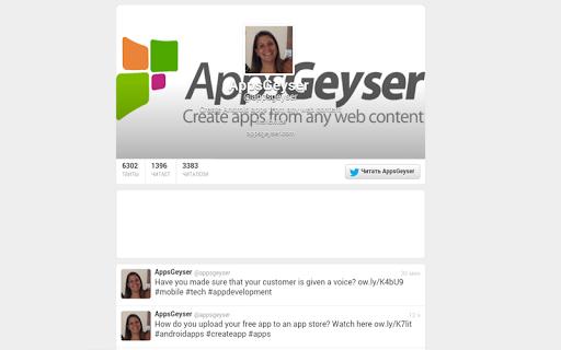 Appsgeyser Updates