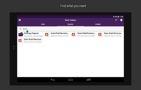 Work Folders Screenshot 11