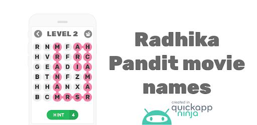 Radhika Pandit movie names – Apps on Google Play