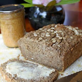 Sweet Brown Oatmeal Bread - Gluten Free & Vegan.