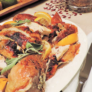 Juicy Roasted Citrus Turkey