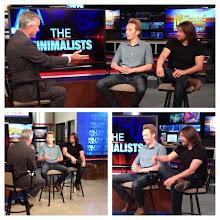 Photo: TV interview in San Diego