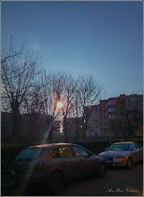 Photo: Calea Victoriei, alee de acces la blocuri Mr.1 - 2018.01.01