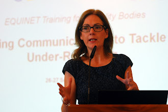 Photo: Libby Kinney from the Equality Commission for Northern Ireland