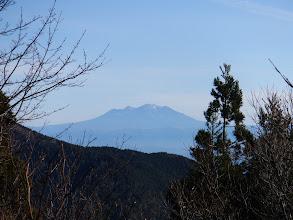 ここも展望は木曽御嶽山のみ