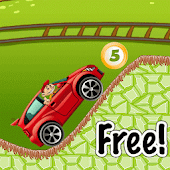 Cartoon Cars Driving Game