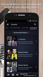 Amazon Music screenshot 02