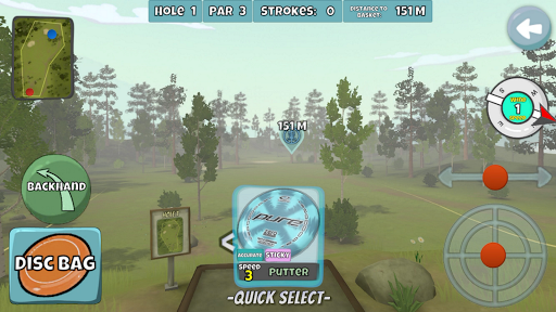 Disc Golf Valley 0.998 screenshots 4