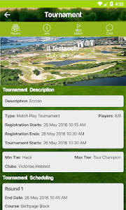 WGolf Tournaments screenshot 1