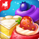 Crazy Cake Swap: Matching Game Icon