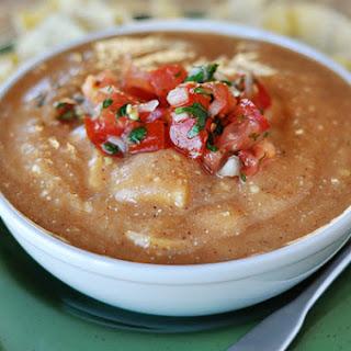 The Best Chicken Enchilada Soup.