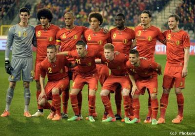 Classement FIFA: La Belgique reste 12ème