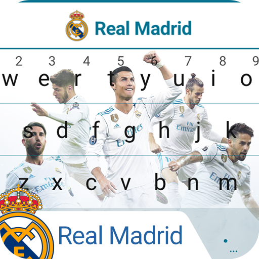 Real Madrid The White Army Keyboard Theme
