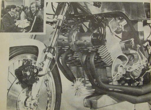 350 KRM1973 présenté par Machines et Moteurs.