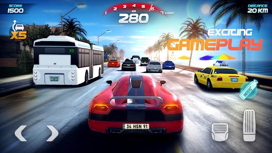 Race Pro: Speed Car Racer in Traffic MOD (Unlimited Gold Coins) 5