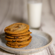 Bake Your Own Salted Caramel Cookies