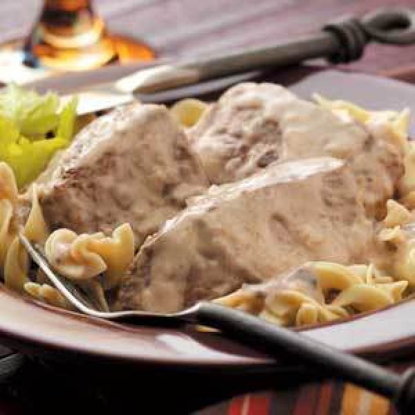 Creamy Swiss Steak Recipe
