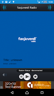 faxjuvenil Radio- screenshot thumbnail