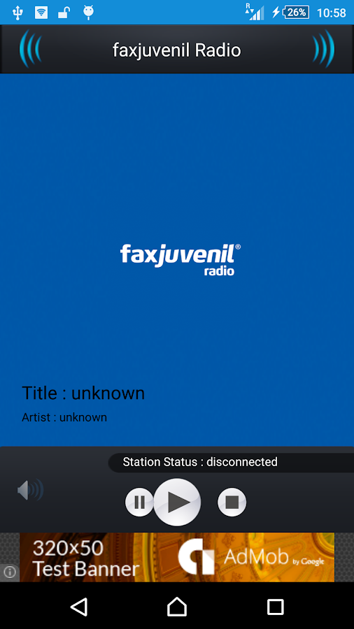 faxjuvenil Radio- screenshot