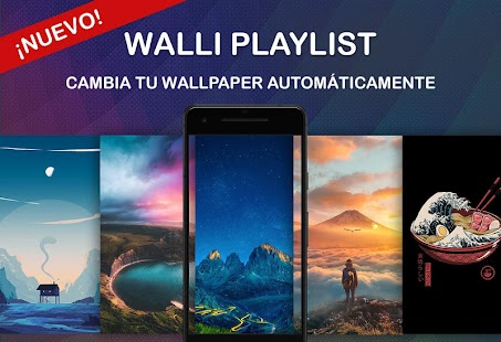 Walli - Fondos de pantalla HD y salvapantallas Screenshot