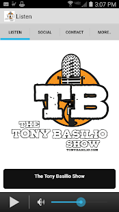 The Tony Basilio Radio Show- screenshot thumbnail