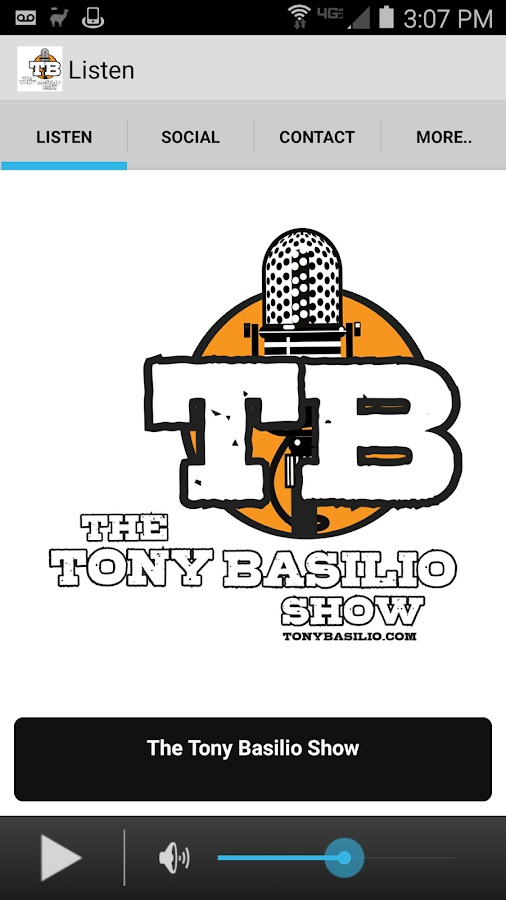 The Tony Basilio Radio Show- screenshot