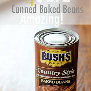 How To Make Canned Baked Beans Taste Amazing.