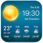 Local Weather Widget&Forecast 16.1.0.47430