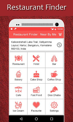 Restaurant Finder Near By Me By Rk Appzia Google Play