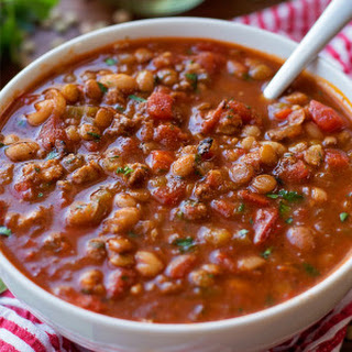 Lentil White Bean Chili