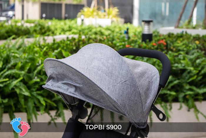 Xe đẩy cao cấp Topbi S900 15