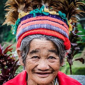 Ifugao Matriarch by Beth Panay - People Street & Candids ( ifugao, rice terraces, banaue )